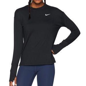 NWT Nike Dri Element Crew Running Top Black XL
